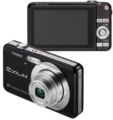 Exilim EX-Z80 8.1MP Digital Camera with 2.6` LCD (Black)