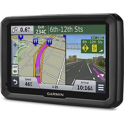 dezl 570LMT 5` Truck GPS Navigation System with Lifetime Map and Traffic Updates