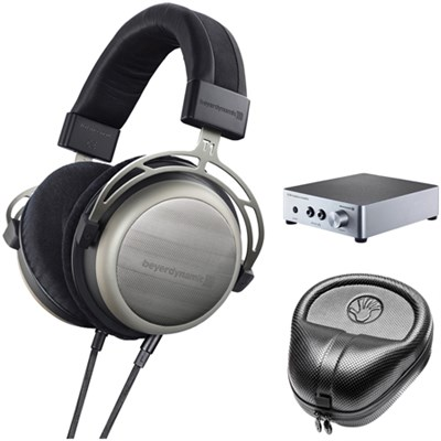 T1 Second Generation Audiophile Stereo Headphone w/ A20 Amp Bundle