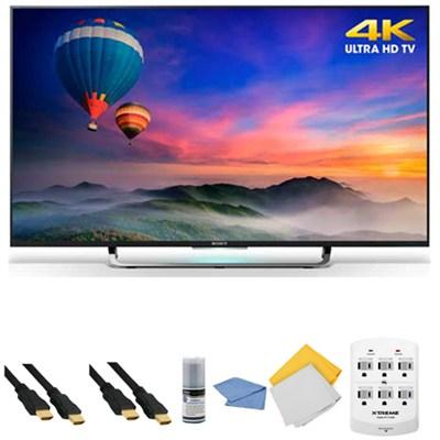 XBR-43X830C - 43-Inch 4K Ultra HD Smart Android LED HDTV + Hookup Kit