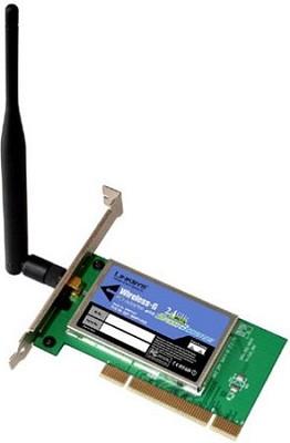 Wireless-G PCI Card with SpeedBooster