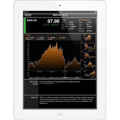 iPad with Retina Display MD521LL/A (64GB, Wi-Fi + AT&T, White) 4th Generation