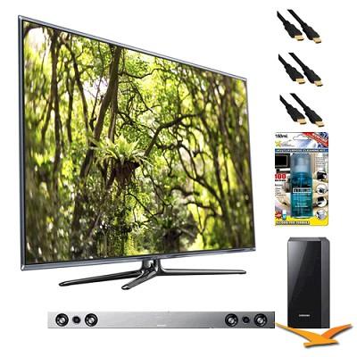 UN46D7900 46` 1080p 240hz 3D Backlit LED HDTV with HW-D551 - Home Theater Bundle