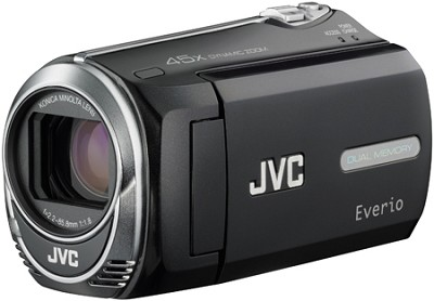 Everio GZ-MS230B Camcorder w/ 8GB Built-in Flash Memory SD/SDHC Card Slot Black
