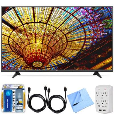 55UF6450 - 55-Inch 4K Ultra HD Smart LED 120Hz TV with webOS 2.0 Bundle