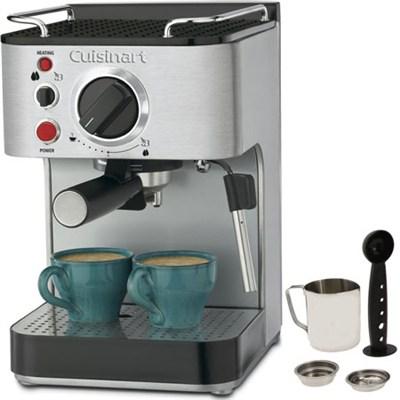 EM-100 15-Bar Stainless Steel Espresso Maker (Factory Refurbished)