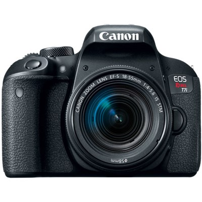 EOS Rebel T7i Digital SLR Camera with EF-S 18-55mm IS STM Lens