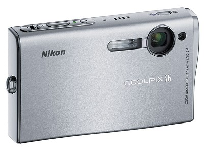 Coolpix S6 Digital Camera - Open Box