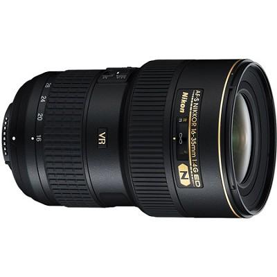 16-35mm D/4 G ED-VR AF-S Wide-Angle Zoom Nikkor Lens - Factory Refurbished