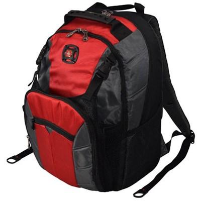 SwissGear Sherpa 16` Laptop Backpack - Red/Black - 601374