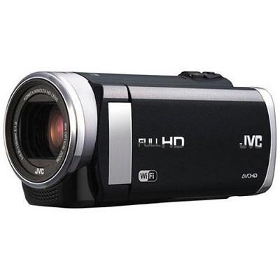 GZ-EX250BUS - HD Everio Camcorder 3.0` Touchscreen 40x Zoom f1.8 WiFi (Black)
