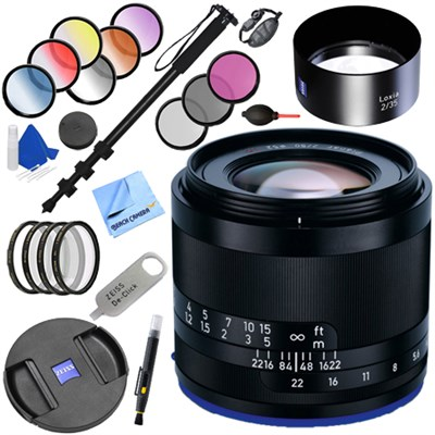 Loxia 35mm f/2 Biogon T Full Frame Lens for Sony E Mount + 52mm Filters Kit
