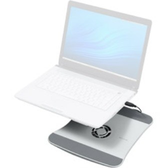 Laptop Cooling Pad  With fan - White - OPEN BOX