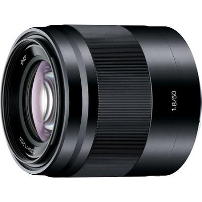 SEL50F18/B - 50mm f/1.8 Mid-Range Prime E-Mount Lens (Black)