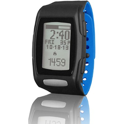 Zone C410 Heart Rate Monitor - Black/Blizzard Blue (LTK7C4102)