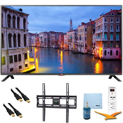 32LB5600 - 32-Inch Full HD 1080p LED HDTV Plus Mount & Hook-Up Bundle