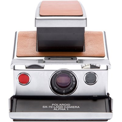 Project Polaroid SX-70 Original Instant Film Camera (Tan Leather) 1503