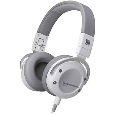 Custom Street Premium Studio Headphones (White)