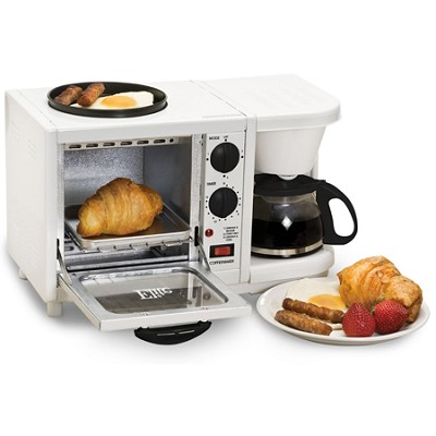 Elite Cuisine 3 in 1 Breakfast Station