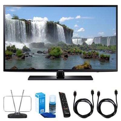 50` Full HD 1080p Smart LED HDTV - UN50J6200 w/ TV Cut the Cord Bundle