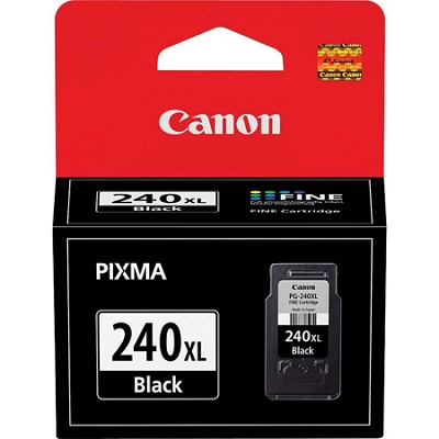 PG-240XL Black Ink Cartridge for PIXMA MG2120, MG3120, MG4120, MX372 Printers