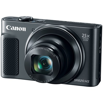 PowerShot SX620 HS 20.2MP Digital Camera, 25x Optical Zoom & Wi-Fi - Black