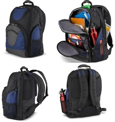 Extreme Backpack for Notebooks up to 16` (PA1452U-1BS6) - Black/Blue