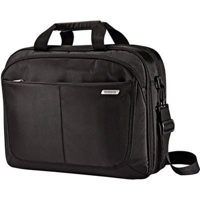 15.6` Two Gusset TSA Checkpoint Friendly Brief Computer Bag