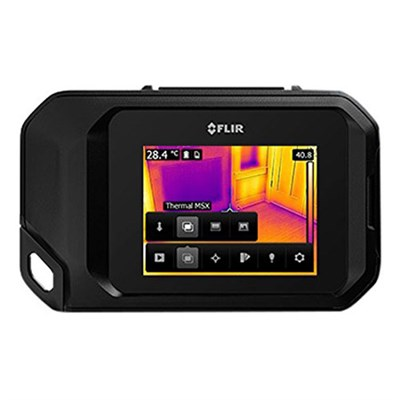 C3 Compact Thermal Imaging Inspection Camera System w/ Wi-Fi (Black) 72003-0303