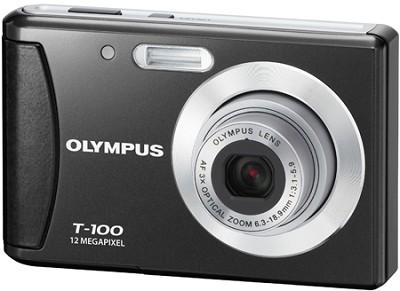 T-100 12MP 2.4` LCD Digital Camera (Black)