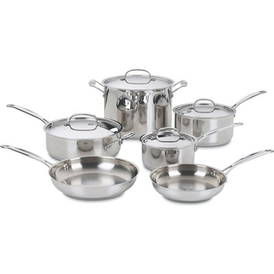 Chef's Classic Stainless Cookware 10 pc. set (77-10)