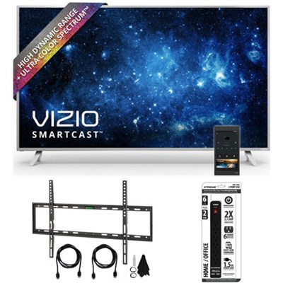 P75-C1 SmartCast P-Series 75` Class Ultra HD HDR TV w/ Wall Mount Bundle