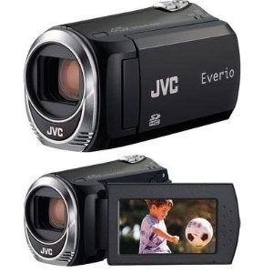 Everio GZMS110 Black Flash Memory Camcorder w/ 39x Optical Zoom