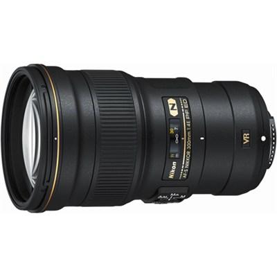 AF-S NIKKOR 300mm f/4E PF ED VR Lens - OPEN BOX