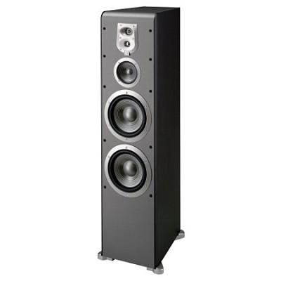ES90BK 4-Way, Dual 8-Inch Floorstanding Speaker - Black