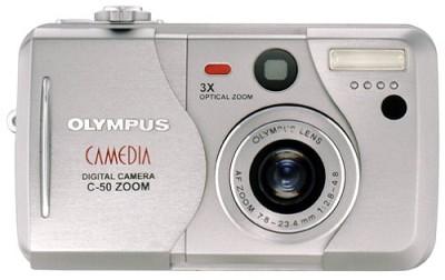 C-50 Refurbished Digital Camera - OPEN BOX