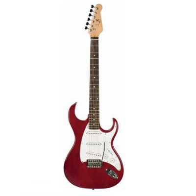 JR6TR Electric Guitar Trans Red