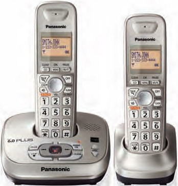 KX-TG4022N DECT 6.0 Expandable Digital Cordless Answering System
