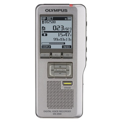 DS 2500 2 GB Voice Recorder - Silver