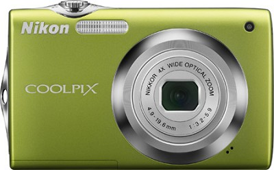 COOLPIX S3000 Digital Camera (Green)