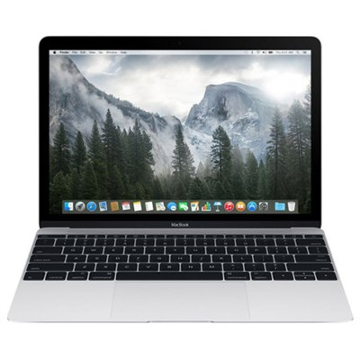MacBook MF855LL/A 12-inch Laptop with Retina Display 256GB, Silver (Refurbished)