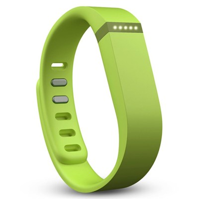 Flex Wireless Activity + Sleep Wristband Lime Green (FB401LE) - OPEN BOX