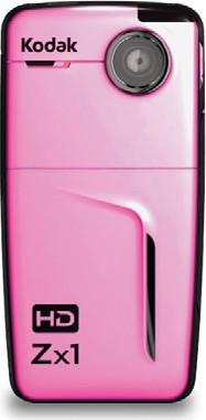 Zx1 Pocket Video Camera (Pink)