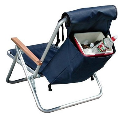 Deluxe Aluminum Hi-Back BackPack Chair
