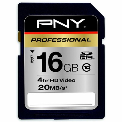 16 GB Flash Memory Card Hi-Speed SDHC