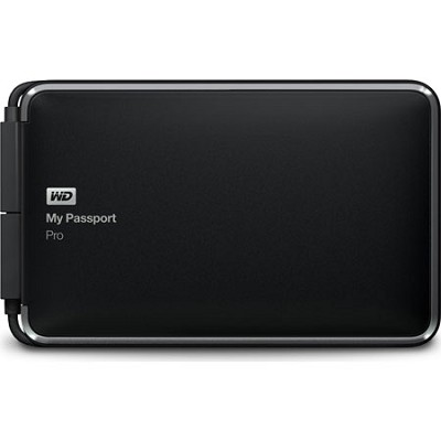 2TB My Passport Pro Portable Thunderbolt RAID Storage External Hard Drive
