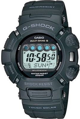 GW9000A-1 Atomic Solar Mudman G-Shock Watch