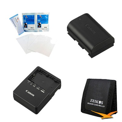 TRAVEL POWER KIT FOR THE CANON EOS 5D MARK III,5D MARK II,6D,7D & 60D