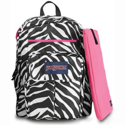 Digital Student Backpack - T19W (Zebra)