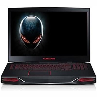 M18x Laptop PC-Intel Core i7 -2630QM   8GB Space Black  AM18X-6732BAA - OPEN BOX